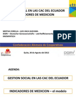 Balance Social Evento Financoop LV