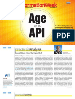 "InformationWeek ""Age of API"" November 2013"
