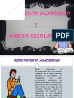 rendimiento academicos
