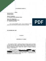 Sentencia an Tartazos Presidenta Navarra