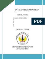 Makalah Makna Dan Sejarah Agama Islam 1