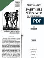 Mintz - Sweetness and Power