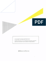UTP Estados financieros 2012