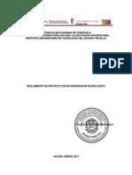 Reglamento Proyecto Socio Integrador Tecnologico Mayo 2012[1][1]