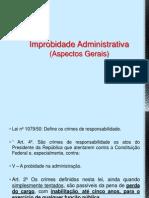 Improbidade Administrativa - Dr Luiz Bortolussi