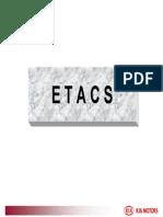 07 picanto ETACS