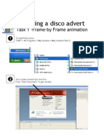 Creating a disco advert in Flash (part 1)