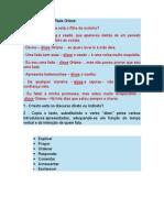 verbos introdutores do diálogo