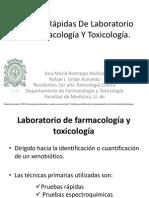 Pruebas Rapidas Farmacologia Toxicologia Medicina Udea