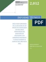 Informe Tecnico Pry Fin 2012