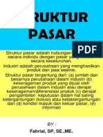 Jenis Struktur Pasar(1)
