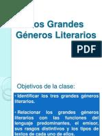 Grandes Géneros Literarios