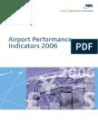 Airport Performance Indicators 2006