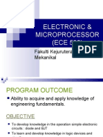 Electronic & Microprocessor