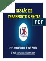 Aula de Transporte e FROTA UCB SAD