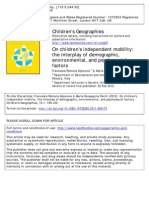 Childrens Geographies