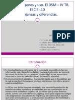 El  DSM. Orígenes y uso. El DSM _ IV TR. El CIE-.10 semana 12 (1)