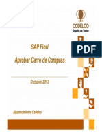 SAP Fiori Carro de Compras