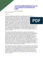 Camaldo Francesco Discorso Papa
