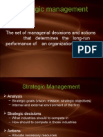 Strategic Management of GTL Limited
