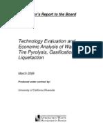 CIWMB Pyrolysis Gasification Report 62006004