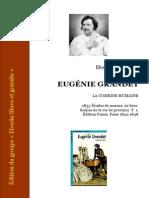 Balzac Eugenie Grandet