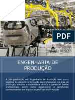 Pós-graduação em Engenharia de Produção - Grupo Educa+ EAD