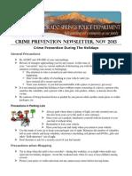 CSPD Newsletter 201311