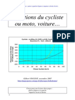 Equations Cycliste
