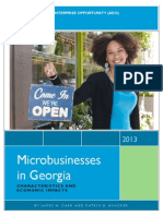 Microbusinesses in Georgia - Characteristics and Economic Impact