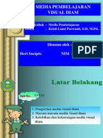 Makalah Media Visual Diam Heri Ppt