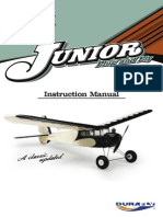 Durafly Retro Junior Manual