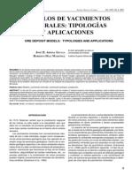 Modelos de Yacimientos Tipologia y Aplicaciones