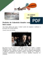 Prefeito de Cabedelo demite comissionados e fará censo