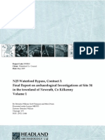 N25 Waterford Bypass, Contract 3. Final Report on archaeological Investigations at Site 34 in the townland of Newrath, Co Kilkenny Volume 1