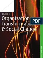 Journal of Organisational Transformation and Social Change