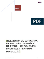 Estimativa de Recurso Rio Minas 03