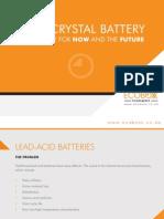 Lead Crystal Battery Presentation