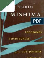Mishima, Yukio - Lecciones Espirituales para los jóvenes samuráis