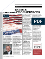 U.S. Business & Immigration Services - American Chamber of Commerce in Japan (ACCJ) Monthly Journal - April 2013