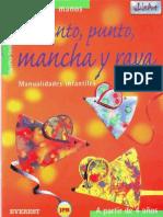 11. Punto punto mancha y raya - Manualidades infantiles - Español - JPR504
