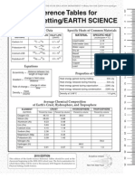 Edition Earth Science Reference Tables