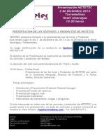Hotetec - Presentacion Torremolinos 3-12-13