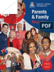 University of Arizona Parents & Family Magazine Fall 2013