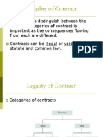 Lecture 7 Legality of Contract (1)