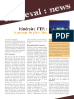 Iter- le plus grand convoi