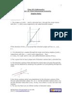 3 Dimentional Geometry