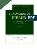 Fundamentos Firmes - I