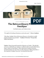 The Extraordinary Pierre Omidyar