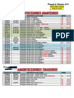Amortecedores - Setembro 2013